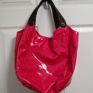 J Crew Shiny Shoulder Bag